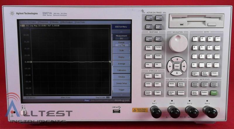 HP - Agilent - Keysight E5071A image-6705