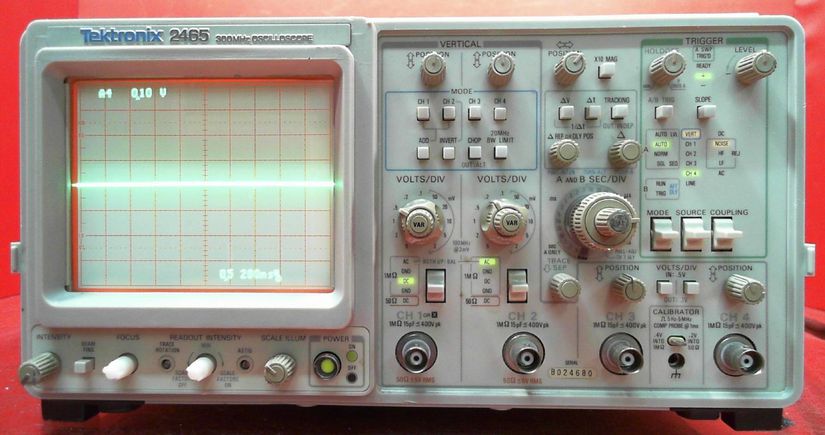 4pcs100MHz Oscilloscope Scope Analyzer Clip Probe Test Lead kit for HP Tektronix