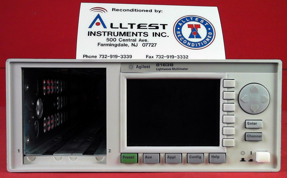 HP - Agilent - Keysight 8163B image-1529