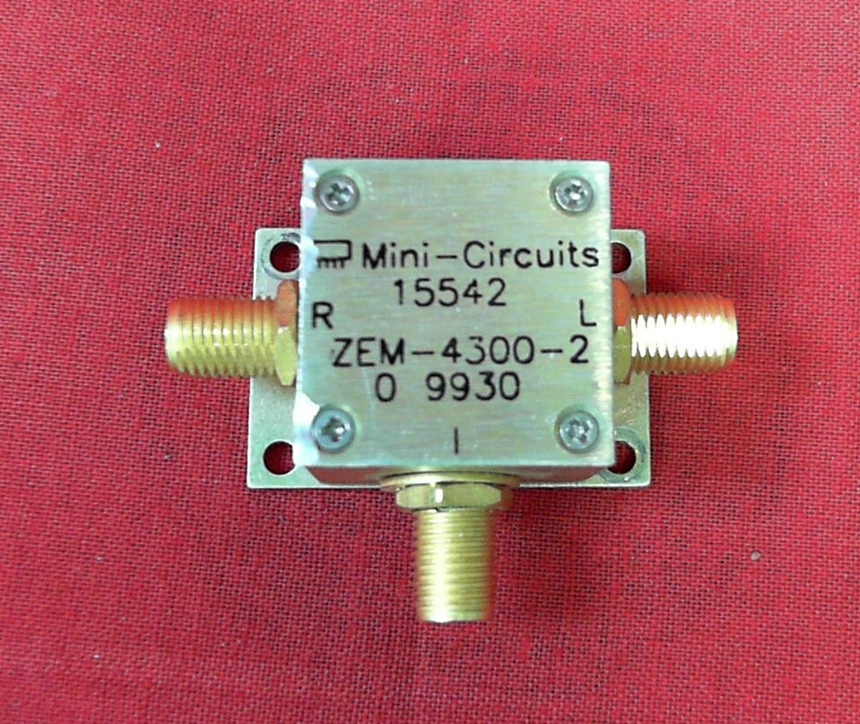 Mini-circuits ZEM-4300-2 Mini-Circuits ZEM-4300-2 Coaxial