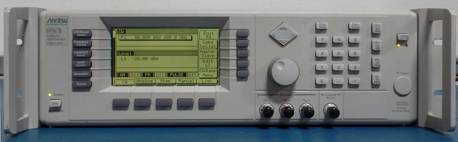 Anritsu 69367B Synthesized Signal Generator, 10MHz to 40GHz