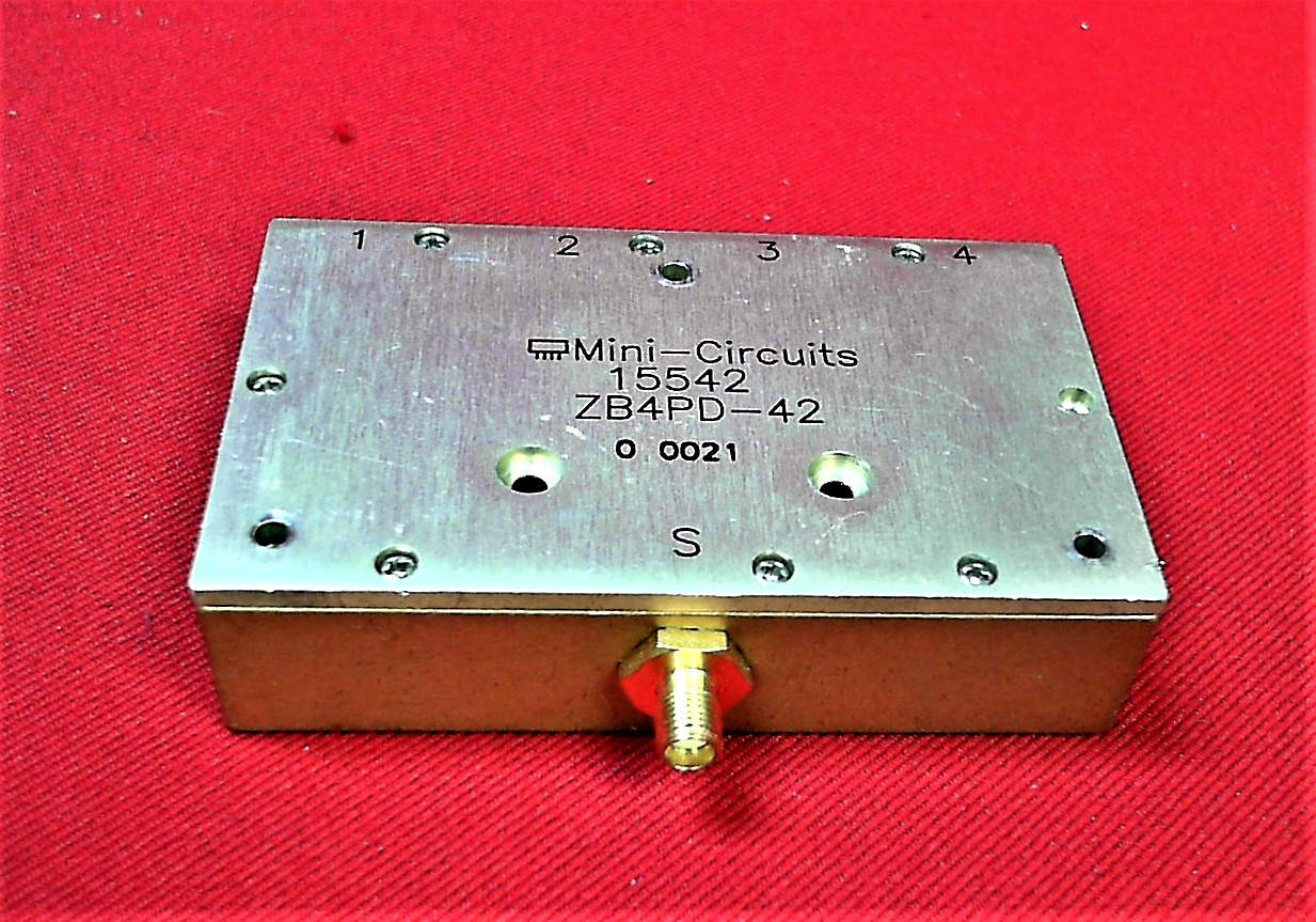 Details about Mini-circuits ZB4PD-42 4-way Power Splitter