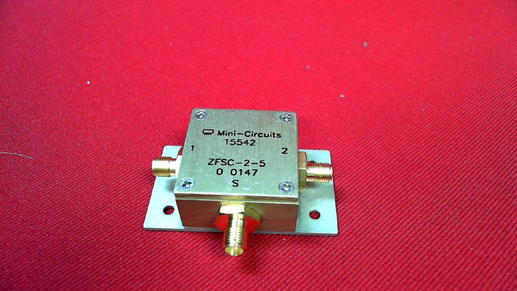 Details about Mini-circuits ZFSC-2-5 Power Splitter