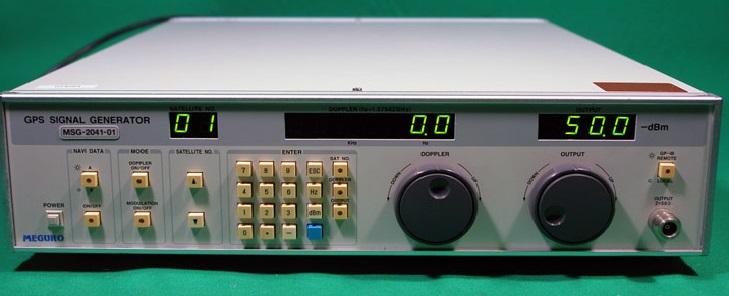 Anritsu MSG2041(Meguro) GPS Signal Generator, Output of 1 57542 GHz